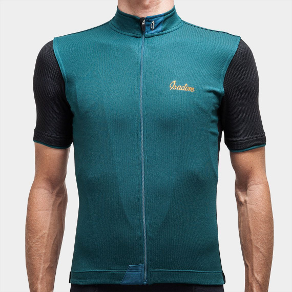 Signature Cycling Jersey Atlantic Blue/black