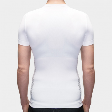 I7A3O7E Echelon SS Baselayer White Women