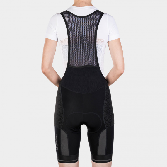 Utility Bib Shorts Women