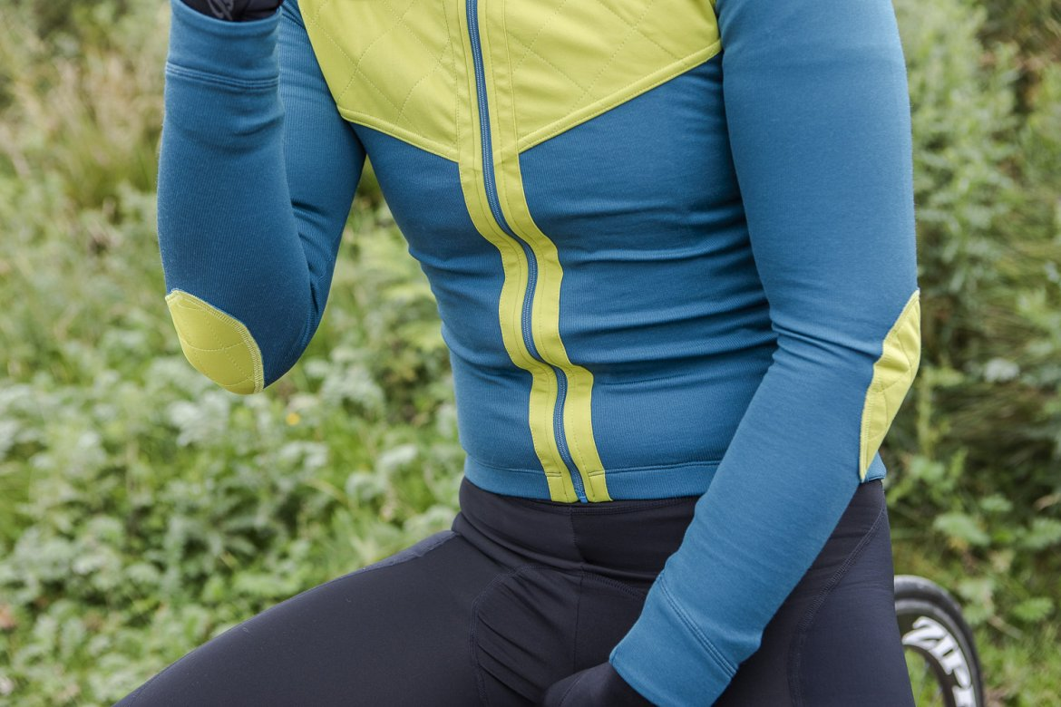 Long Sleeve Shield Jersey Blue Coral 2.0